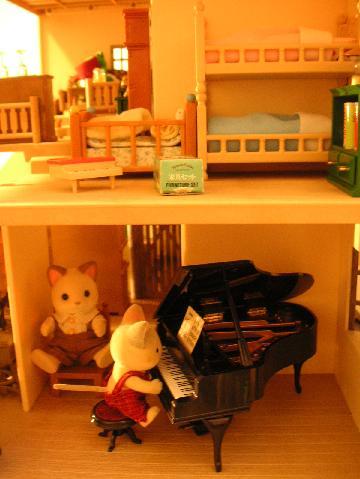 ネコ君のピアノ