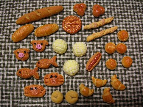 粘土 パン