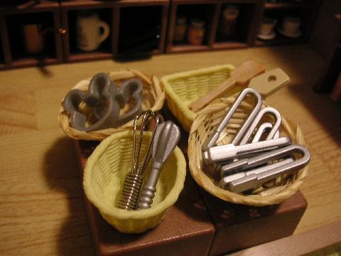製菓材料屋さん道具