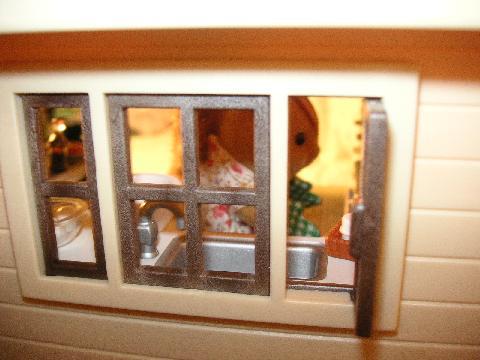 リスキッチン窓