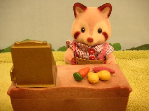 ブラウンウサギ買い物7
