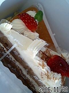 鉄誕生日のケーキ