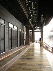 西本願寺本堂正面廊下