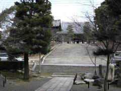 金戒光明寺本堂への階段