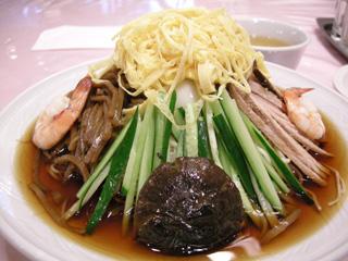 五色涼拌麺