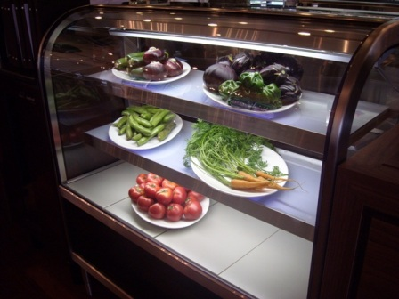 出番待ちの野菜たち