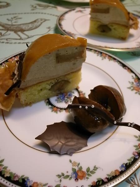 マロンケーキ2