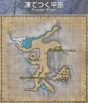 凍てつく平原map