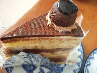 菓子の家チョコレートケーキ