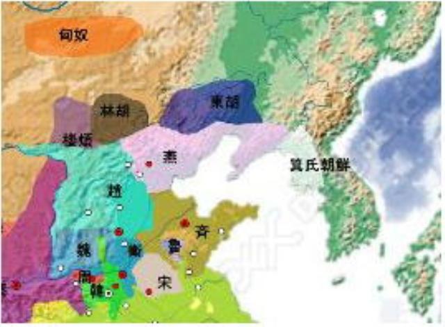 前300年の東アジア