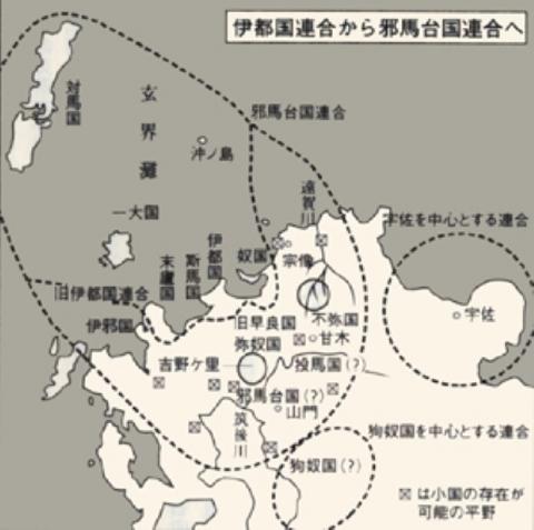 北九州勢力図