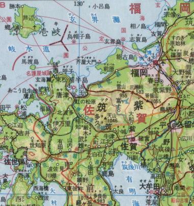 倭国中枢部地図