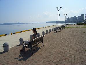 和倉港にて