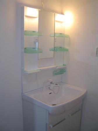 ハイツオーク205洗面台
