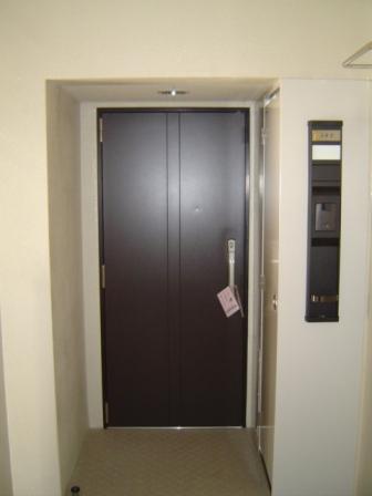 ツインキューブ205玄関