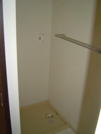 ツインキューブ205洗濯機置き場