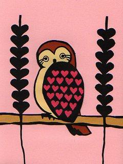 a sweet owl