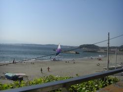 080506 葉山の浜辺