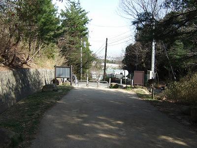 甲山森林公園入口(関学側)