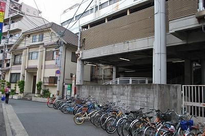 鶴橋有料駐輪場