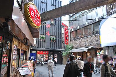 近鉄鶴橋駅改札前