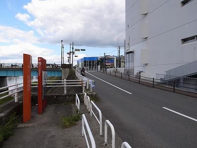なにわ自転車道吹田大橋出口