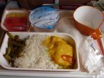 2012/4/17朝食 MI771便(サムイ-シンガポール)にて