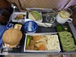 2012/4/17夕食 SQ634便(シンガポール-羽田)にて