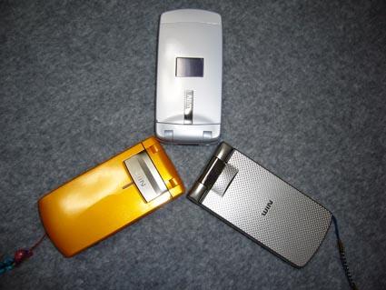 カシオ携帯