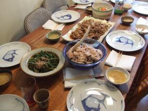 日本食、第三回目のお料理♪
