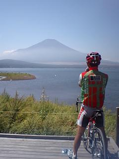 20080910富士山と山根さん