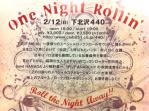 one night rollin'