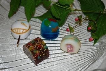松彌の夏の和菓子