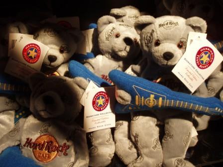 Hard Rock Cafe のクマさんロッカー