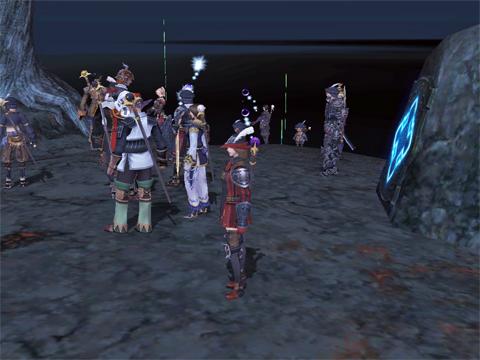 サラメーヤ戦の前にたたずむ勇者達!