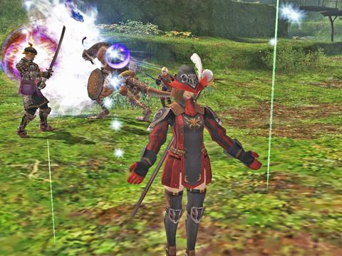竜騎士も侍もすごいです、あっというまに、片付けました!