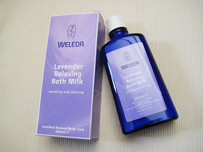 Weleda Lavender Bath Milk