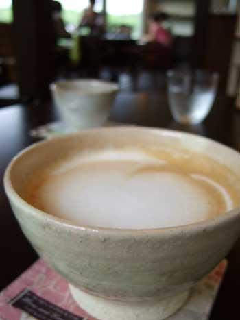 カフェ エスケープ カフェオレ