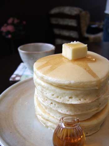 カフェ エスケープ パンケーキ