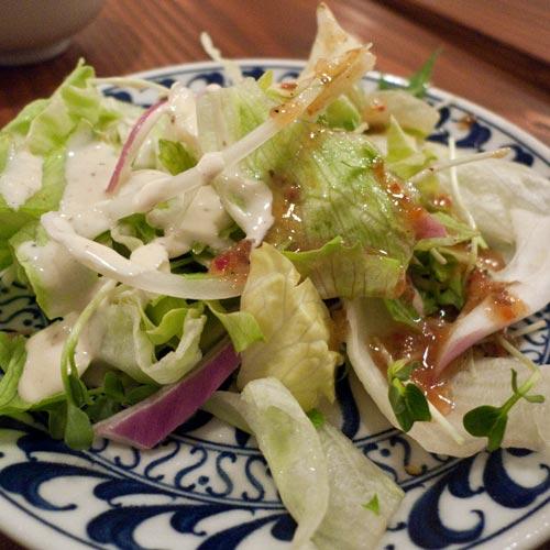 アジアンタイフーン サラダ