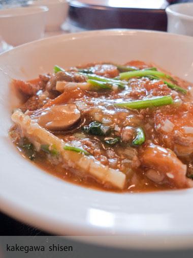 掛川四川 麺'sランチ 料理