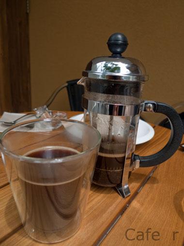 Cafe r コーヒー