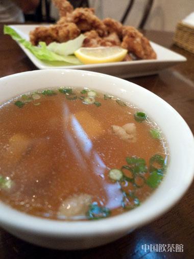 中国飲茶館 スープ