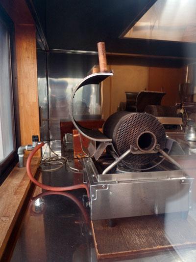 掛川一風堂 焙煎機