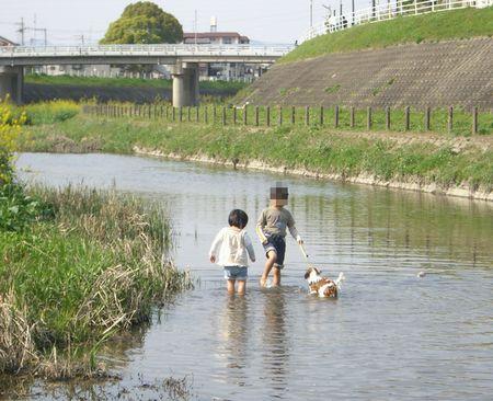 川遊び50412