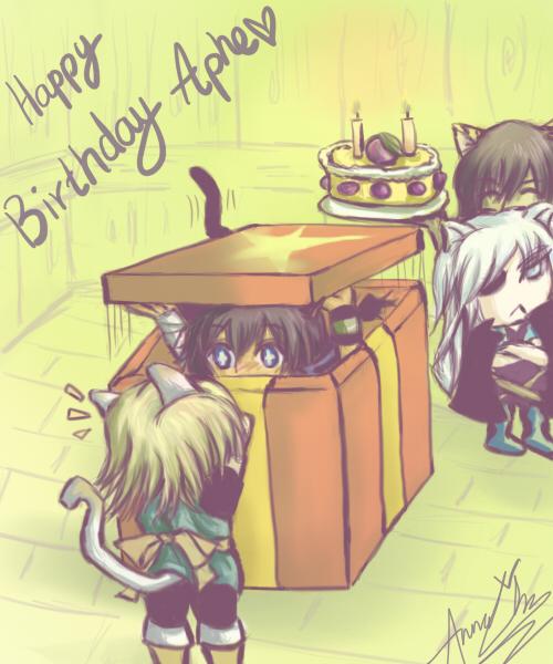 Lamento Aphe Birthday