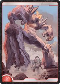 炎の巨石兵