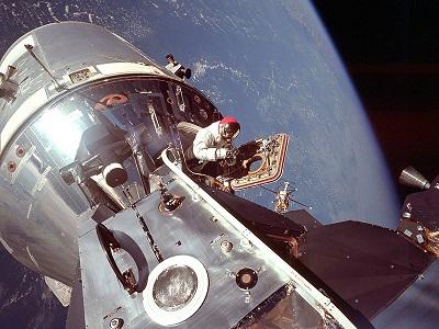 Apollo-9 EVA