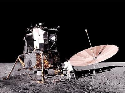 Apollo-12 EVA
