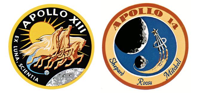 Apollo-13  Apollo-14 patch
